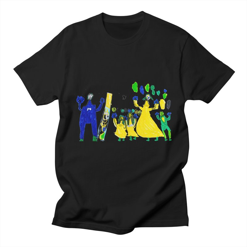Maria do Carmo - A sagrada família in Men's T-Shirt Black by Blame Dutchie's Tee House