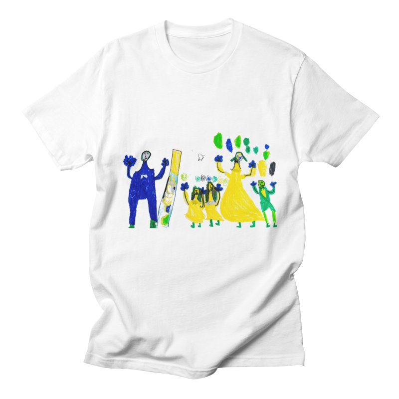 Maria do Carmo - A sagrada família Men's Regular T-Shirt by Blame Dutchie's Tee House