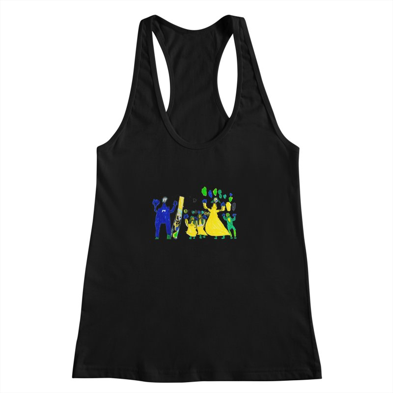 Maria do Carmo - A sagrada família Women's Tank by Blame Dutchie's Tee House