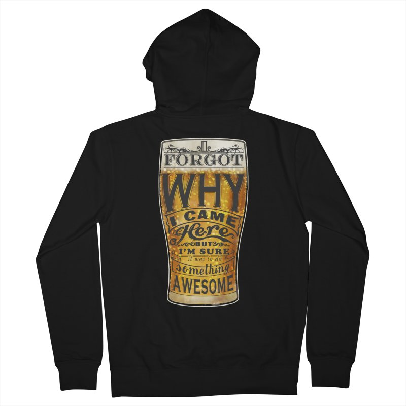 something awesome Women's Zip-Up Hoody by blancajp's Artist Shop