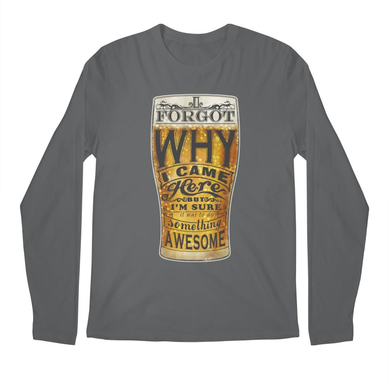 something awesome Men's Longsleeve T-Shirt by blancajp's Artist Shop
