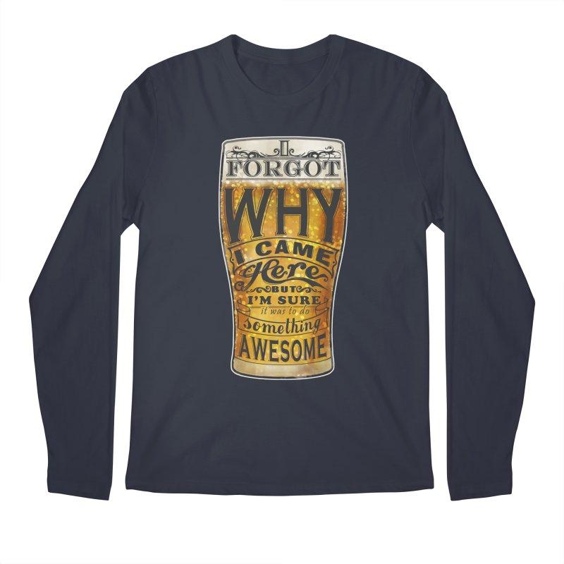 something awesome Men's Regular Longsleeve T-Shirt by blancajp's Artist Shop