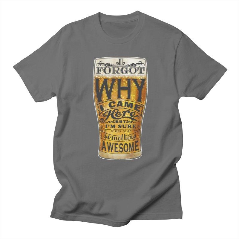 something awesome Men's Regular T-Shirt by blancajp's Artist Shop