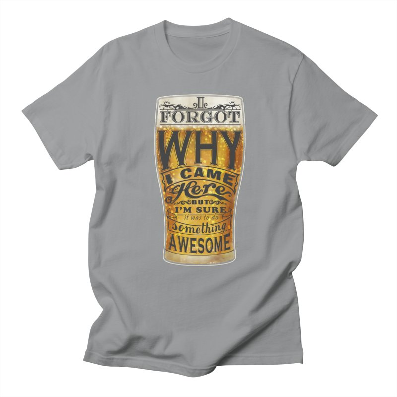 something awesome Men's Regular T-Shirt by blancajp's Artist Shop