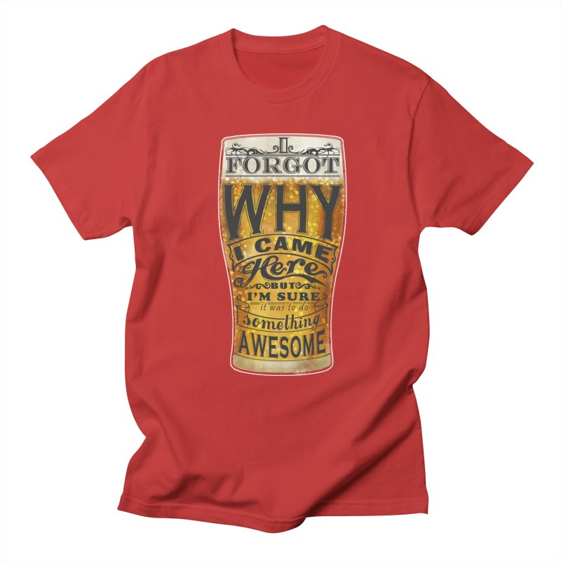 something awesome Men's T-shirt by blancajp's Artist Shop