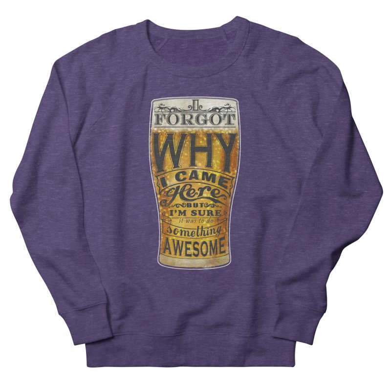 something awesome Men's Sweatshirt by blancajp's Artist Shop