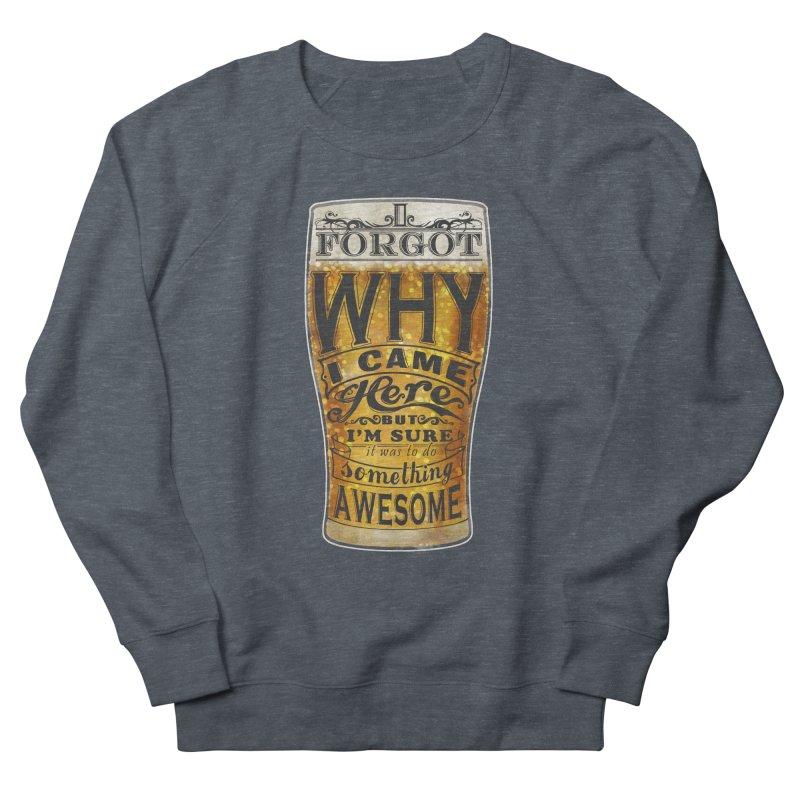 something awesome Men's Sweatshirt by blancajp's Artist Shop