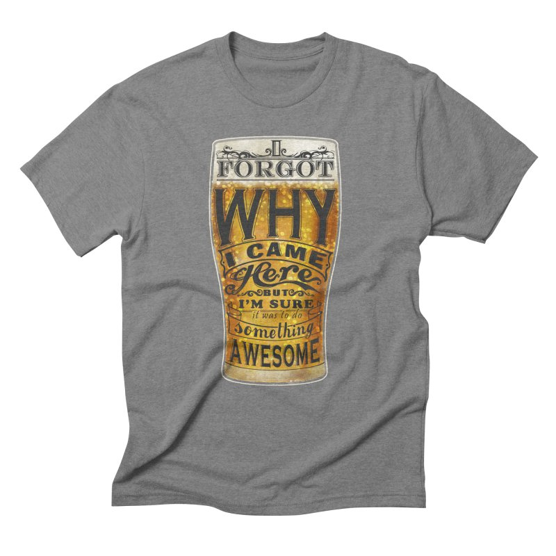 something awesome Men's Triblend T-Shirt by blancajp's Artist Shop