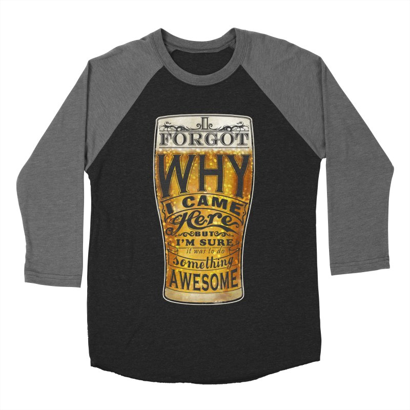 something awesome Men's Baseball Triblend Longsleeve T-Shirt by blancajp's Artist Shop
