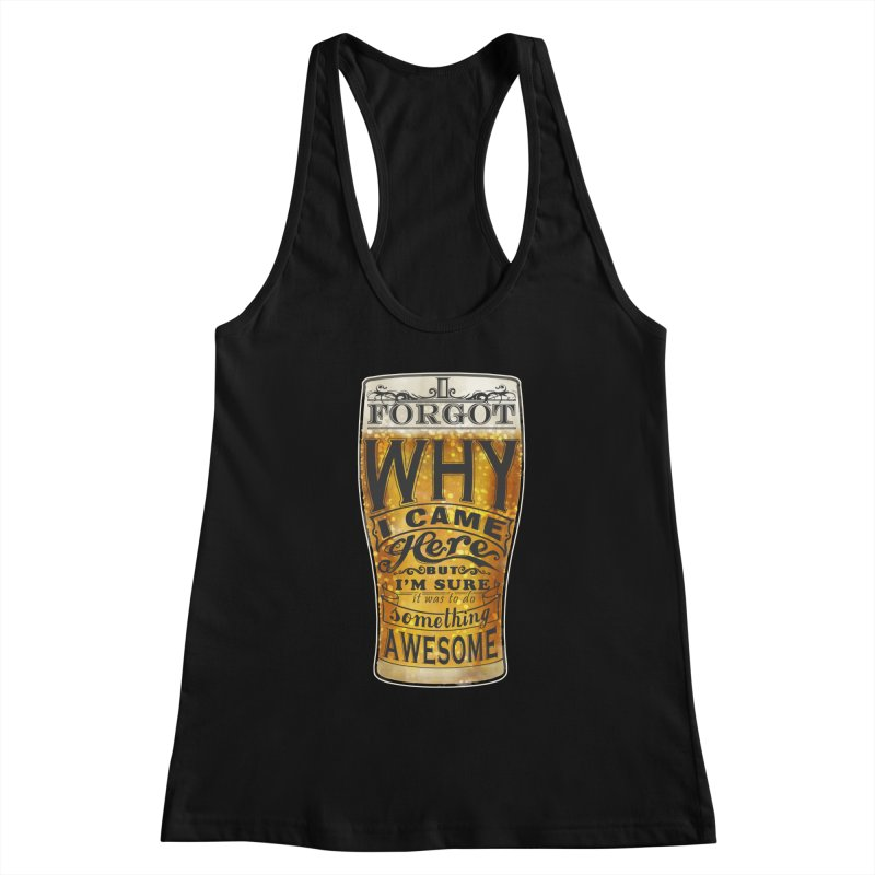 something awesome Women's Racerback Tank by blancajp's Artist Shop