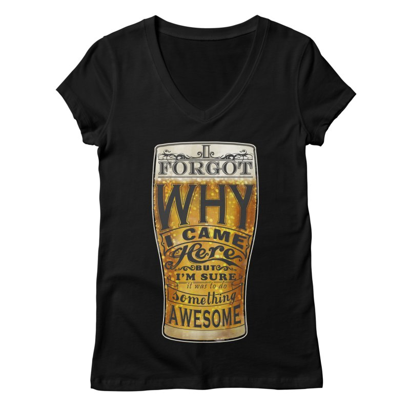 something awesome Women's V-Neck by blancajp's Artist Shop