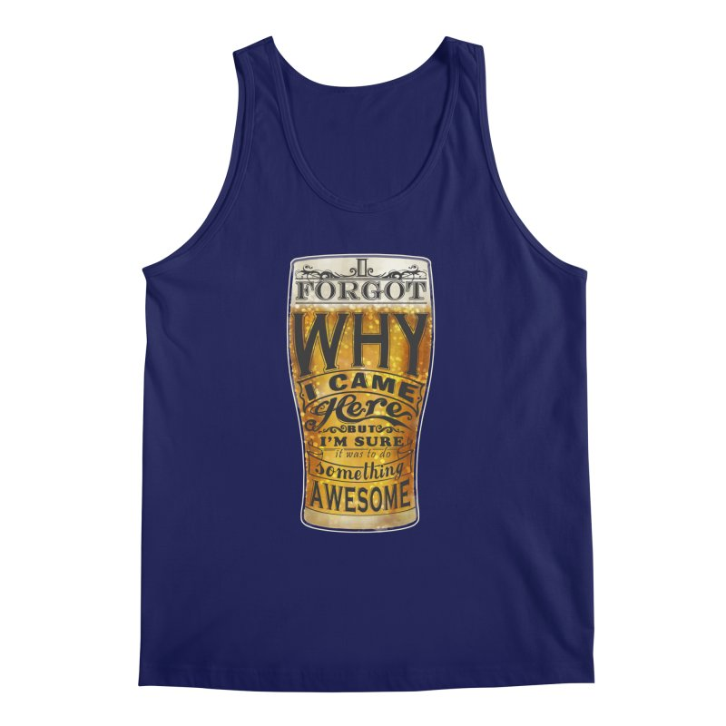 something awesome Men's Regular Tank by blancajp's Artist Shop
