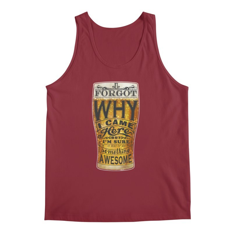 something awesome Men's Tank by blancajp's Artist Shop