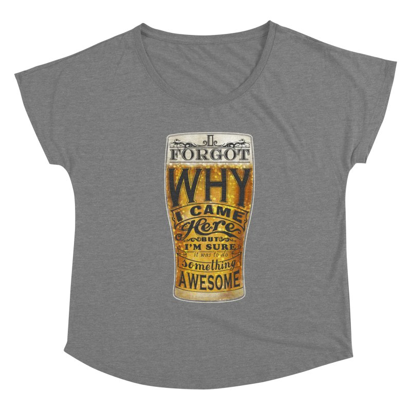 something awesome Women's Scoop Neck by blancajp's Artist Shop