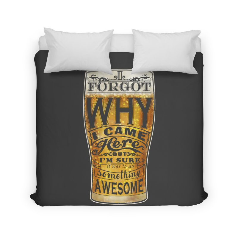 something awesome Home Duvet by blancajp's Artist Shop