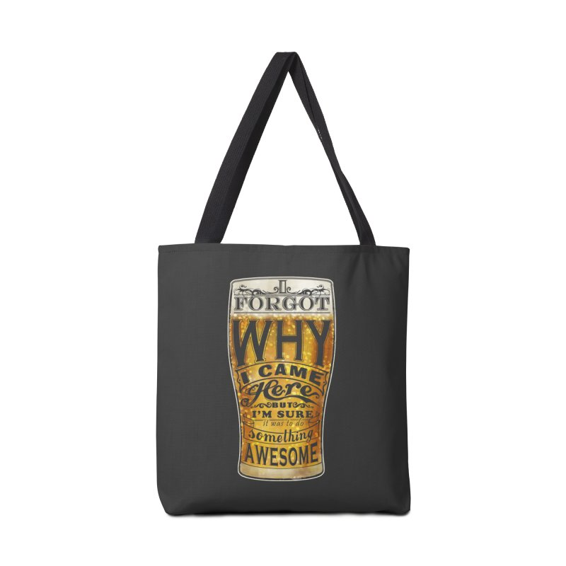 something awesome Accessories Bag by blancajp's Artist Shop