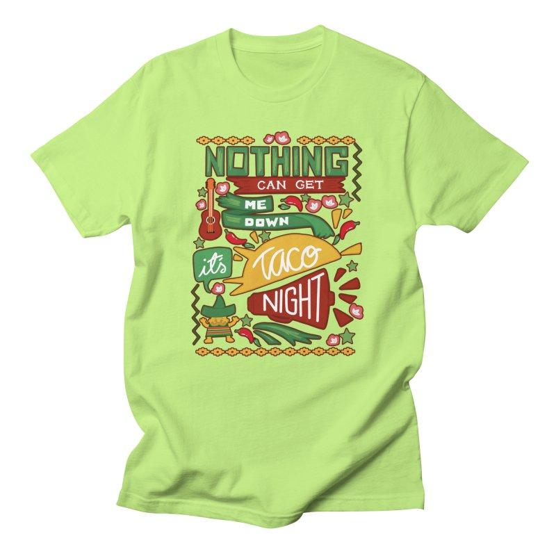 Taco night Men's Regular T-Shirt by blancajp's Artist Shop