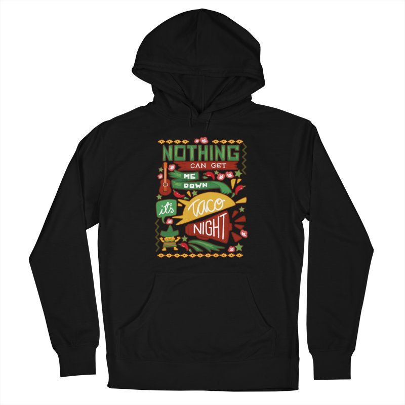 Taco night Women's French Terry Pullover Hoody by blancajp's Artist Shop