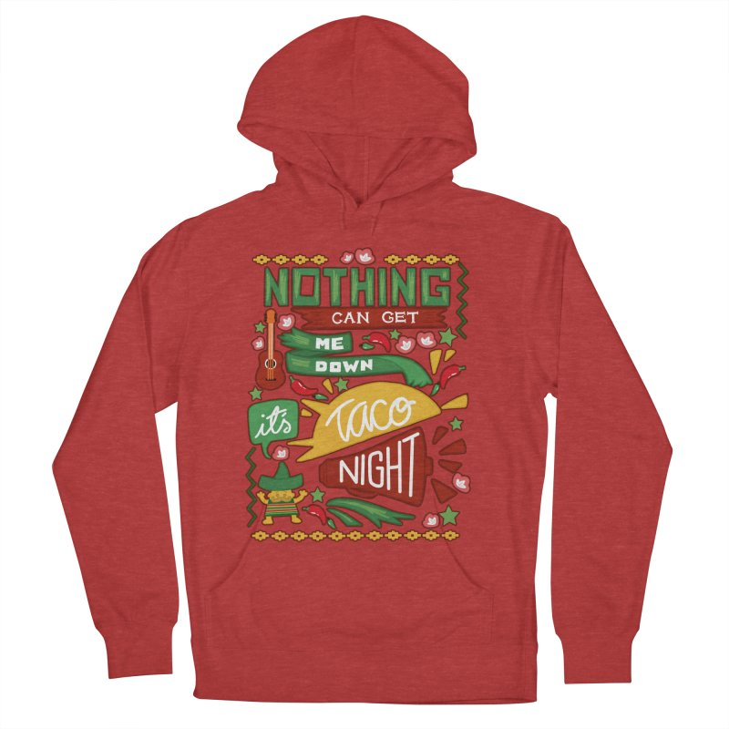 Taco night Women's Pullover Hoody by blancajp's Artist Shop
