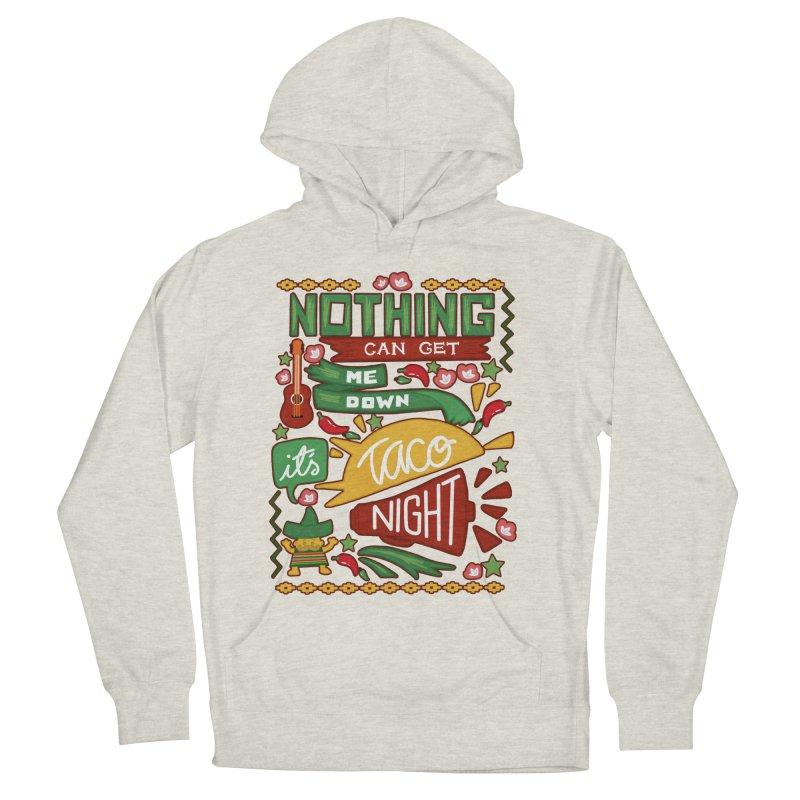 Taco night Men's Pullover Hoody by blancajp's Artist Shop