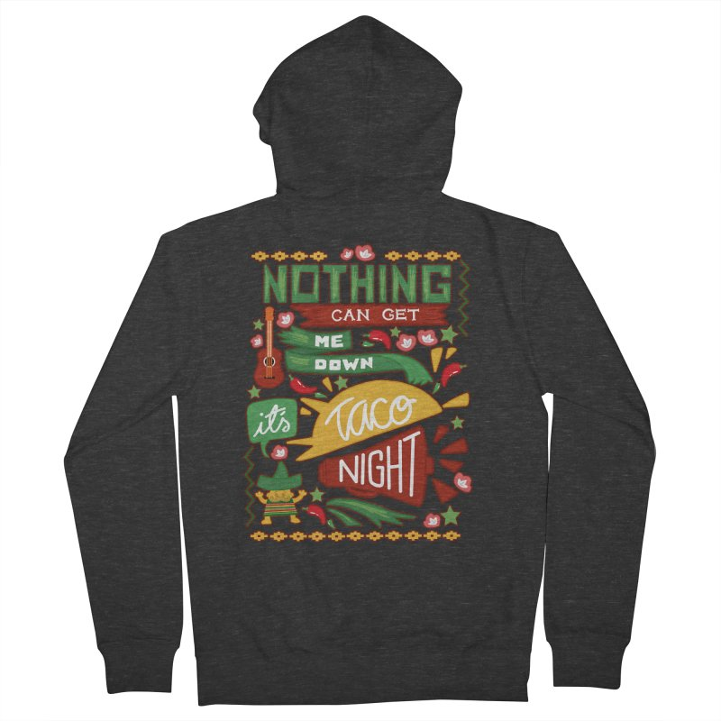 Taco night Women's Zip-Up Hoody by blancajp's Artist Shop