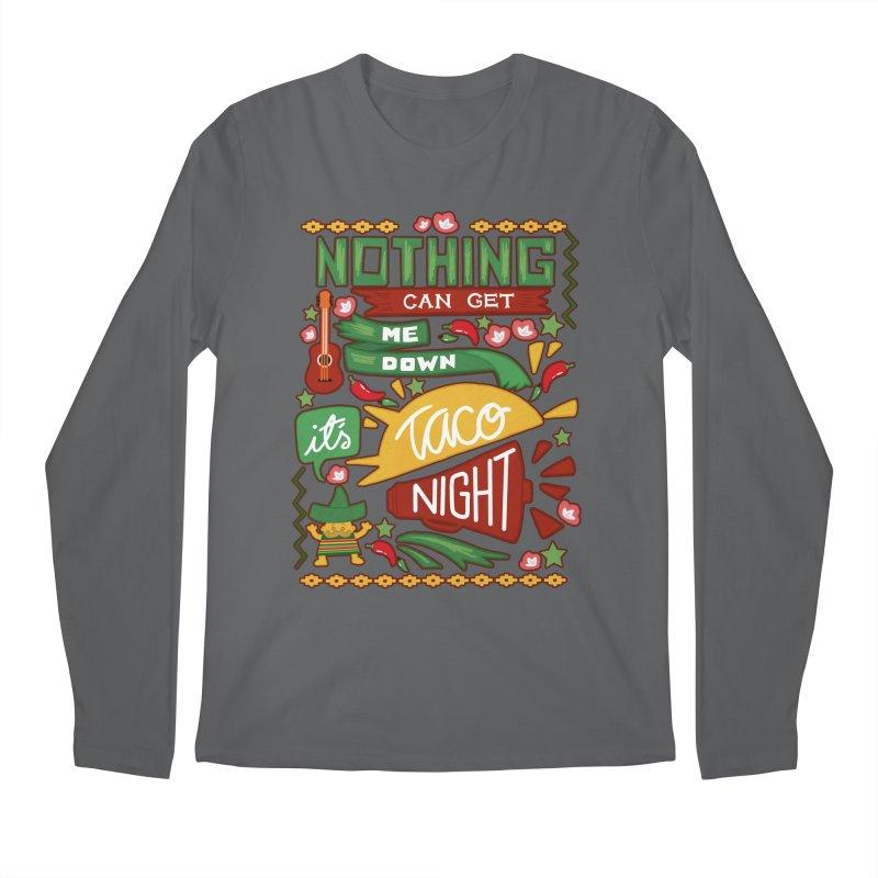 Taco night Men's Longsleeve T-Shirt by blancajp's Artist Shop