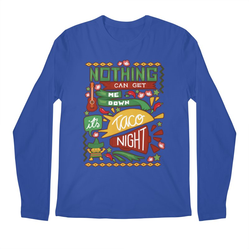 Taco night Men's Regular Longsleeve T-Shirt by blancajp's Artist Shop