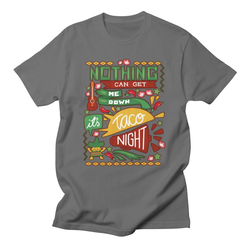 Taco night Women's Unisex T-Shirt by blancajp's Artist Shop