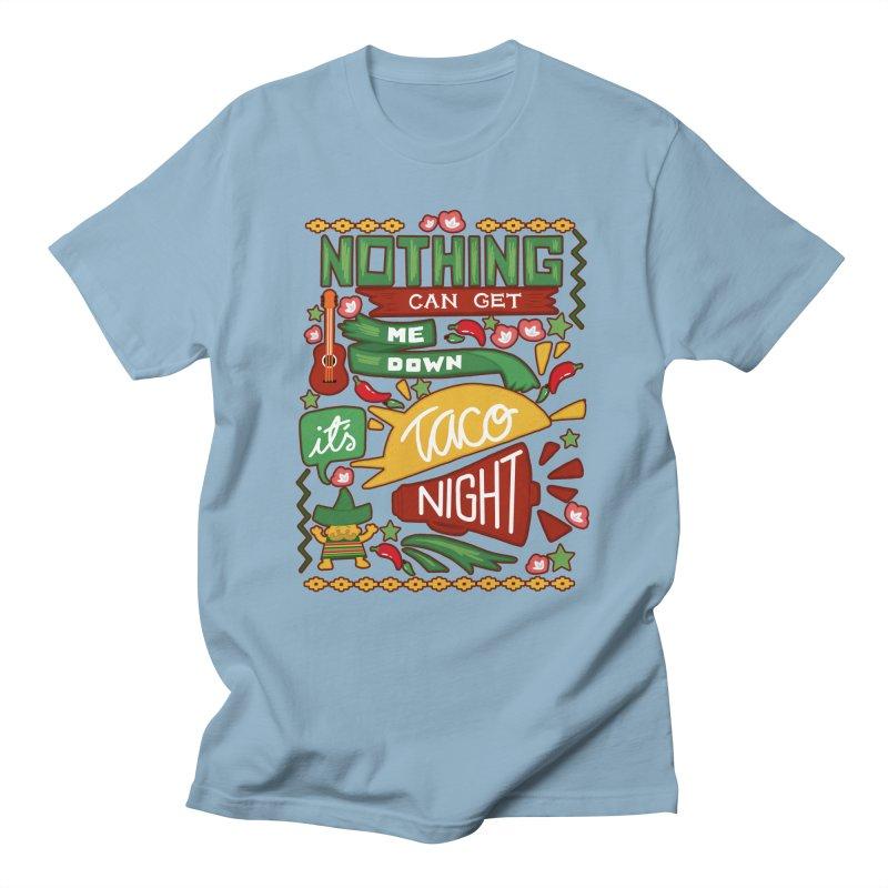 Taco night Women's Regular Unisex T-Shirt by blancajp's Artist Shop