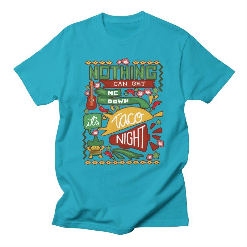 Taco night Men's T-Shirt by blancajp's Artist Shop