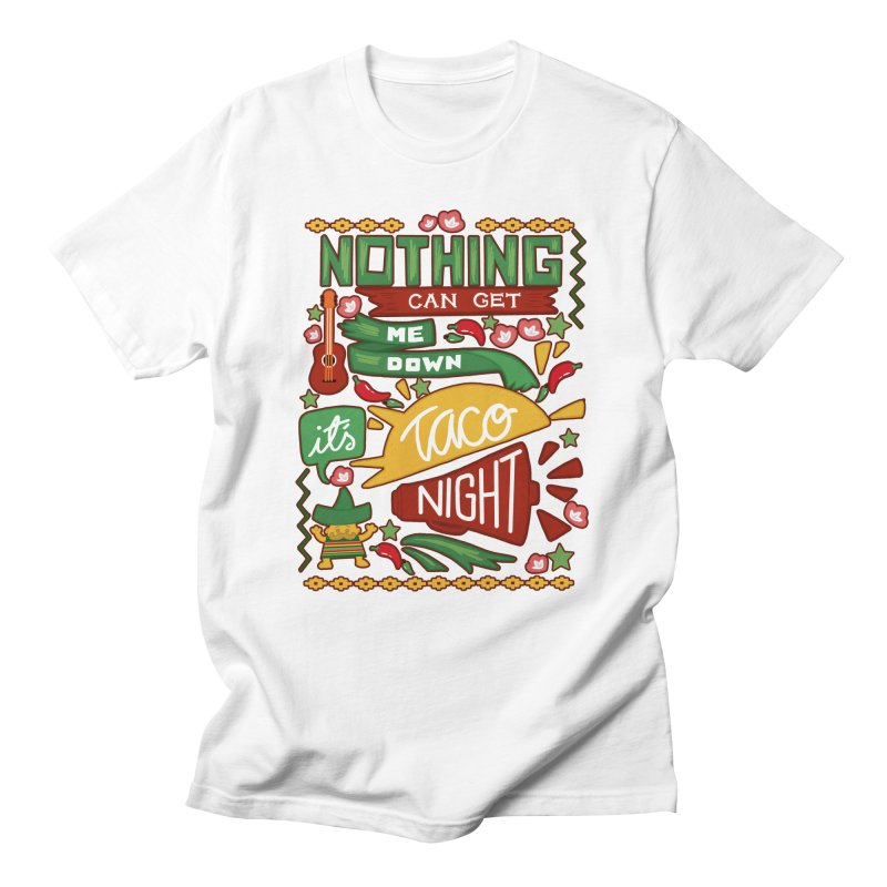 Taco night Men's Regular T-Shirt by blancajp's Artist Shop