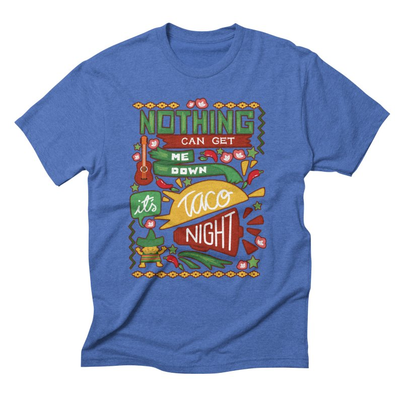 Taco night Men's Triblend T-Shirt by blancajp's Artist Shop