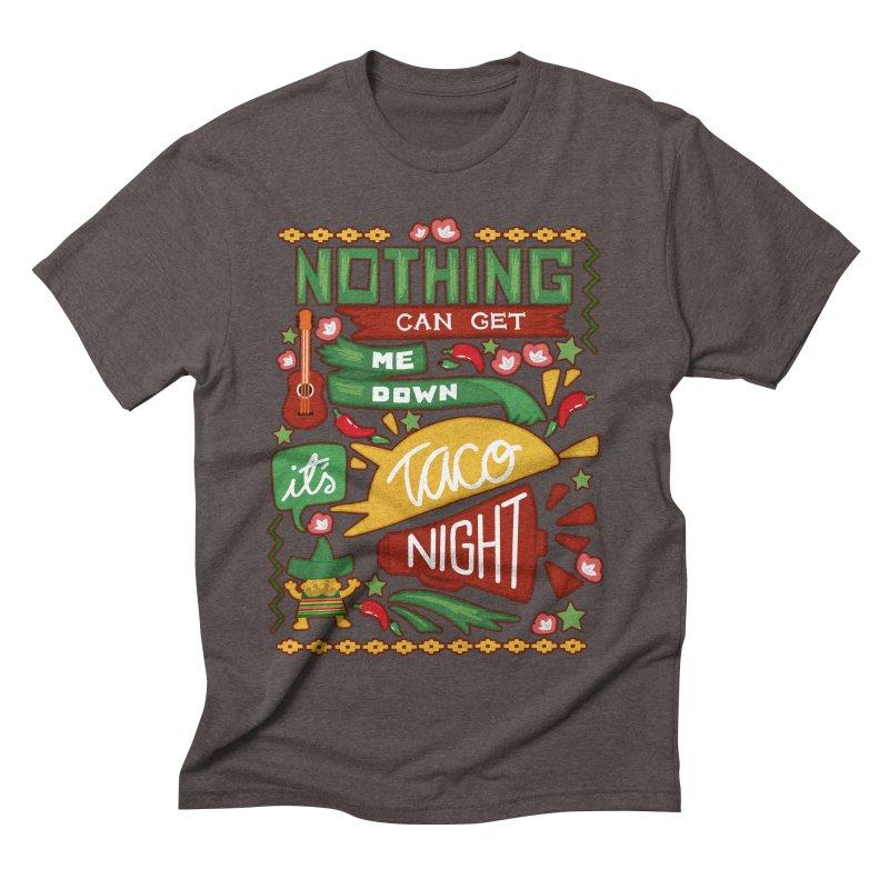 Taco night Men's Triblend T-shirt by blancajp's Artist Shop