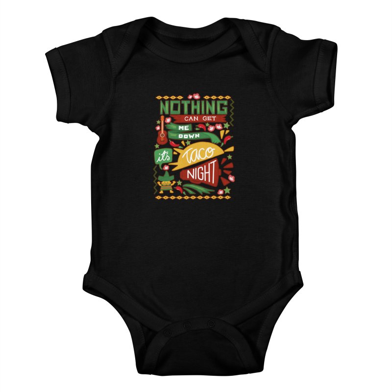 Taco night Kids Baby Bodysuit by blancajp's Artist Shop
