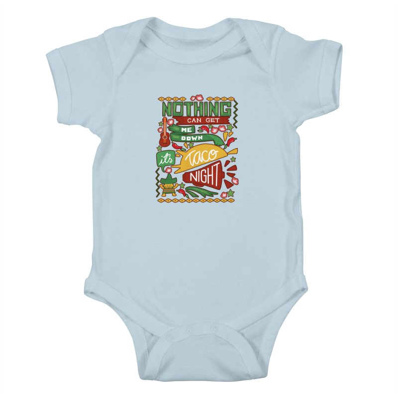 Taco night Kids Baby Bodysuit by blancajp's Artist Shop