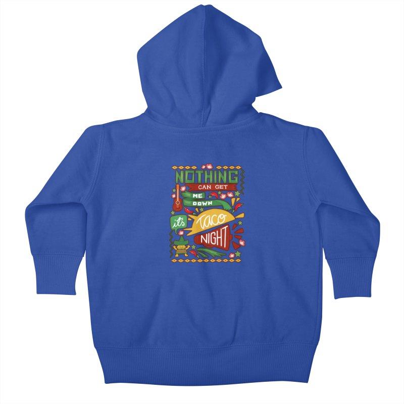 Taco night Kids Baby Zip-Up Hoody by blancajp's Artist Shop