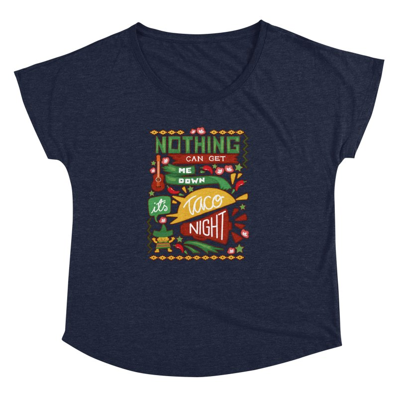 Taco night Women's Dolman by blancajp's Artist Shop