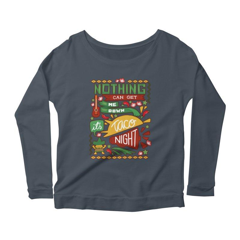 Taco night Women's Longsleeve T-Shirt by blancajp's Artist Shop
