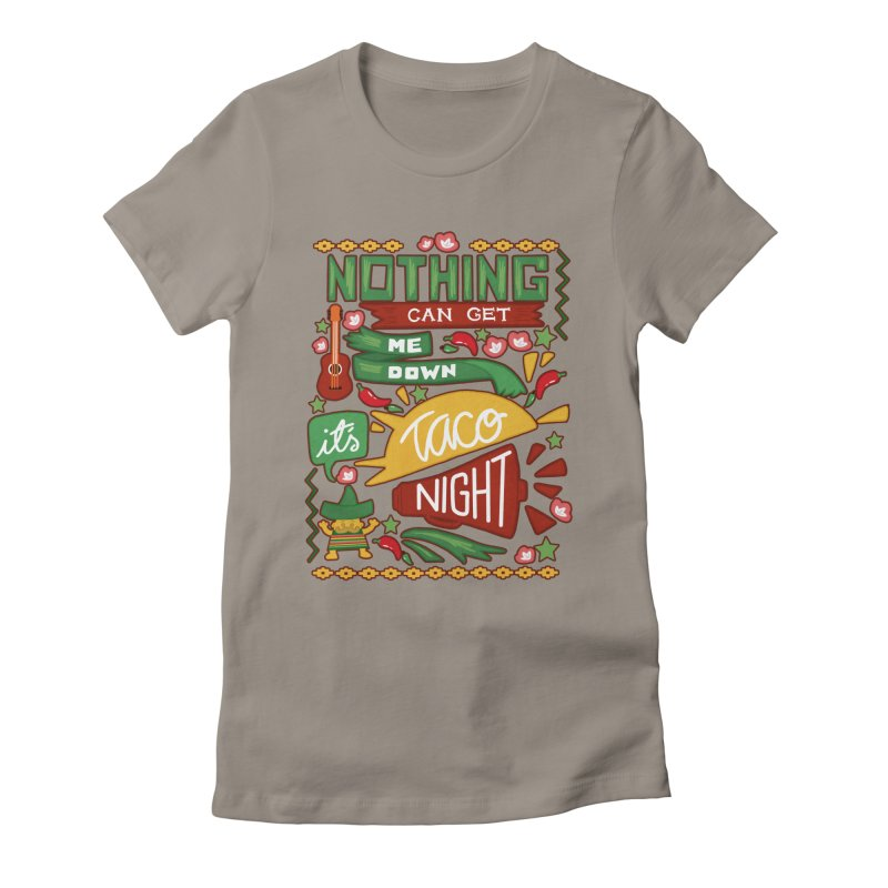 Taco night Women's  by blancajp's Artist Shop