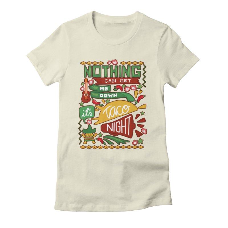 Taco night Women's T-Shirt by blancajp's Artist Shop