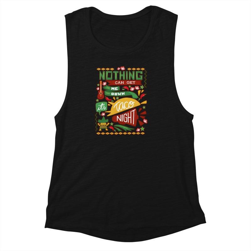 Taco night Women's Muscle Tank by blancajp's Artist Shop