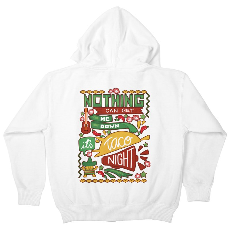 Taco night Kids Zip-Up Hoody by blancajp's Artist Shop