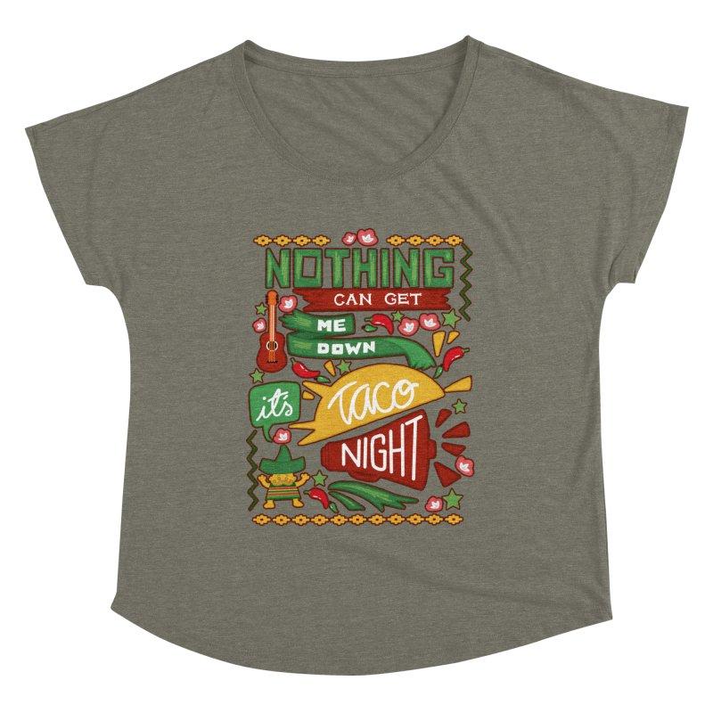 Taco night Women's Scoop Neck by blancajp's Artist Shop