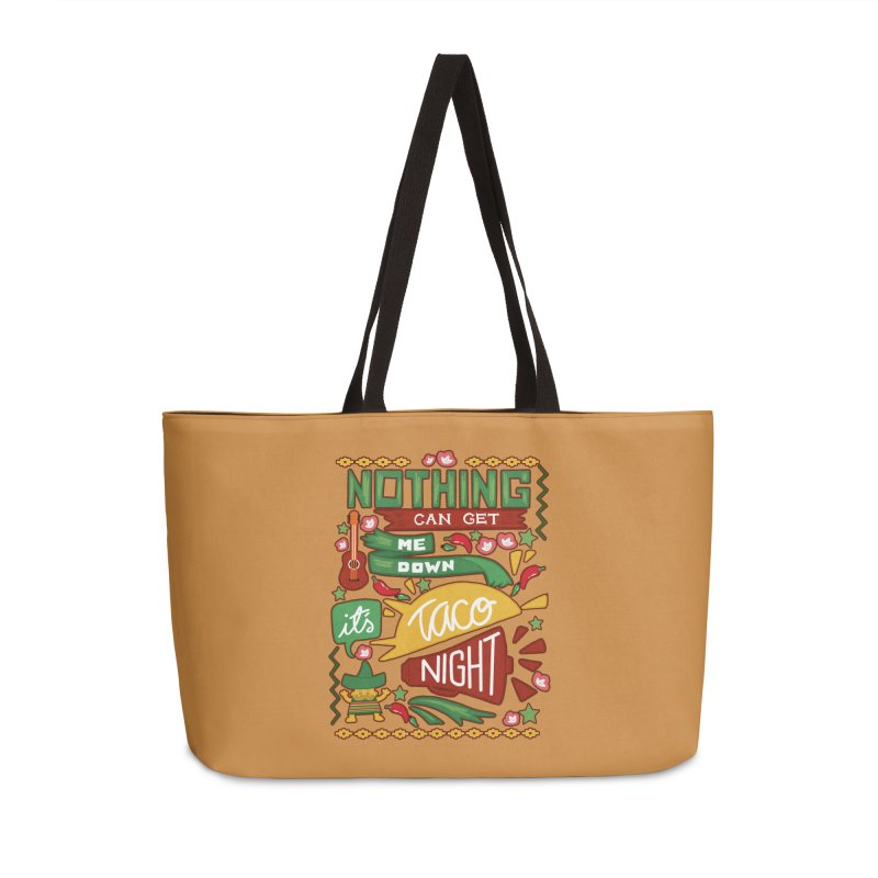 Taco night Accessories Weekender Bag Bag by blancajp's Artist Shop
