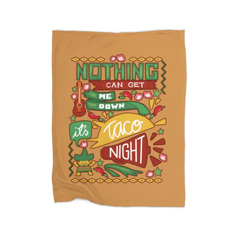 Taco night Home Blanket by blancajp's Artist Shop