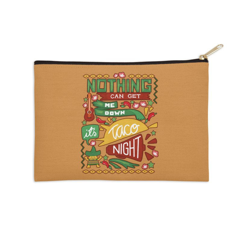 Taco night Accessories Zip Pouch by blancajp's Artist Shop