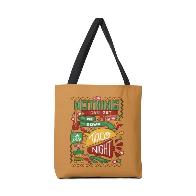 Taco night Accessories Tote Bag Bag by blancajp's Artist Shop