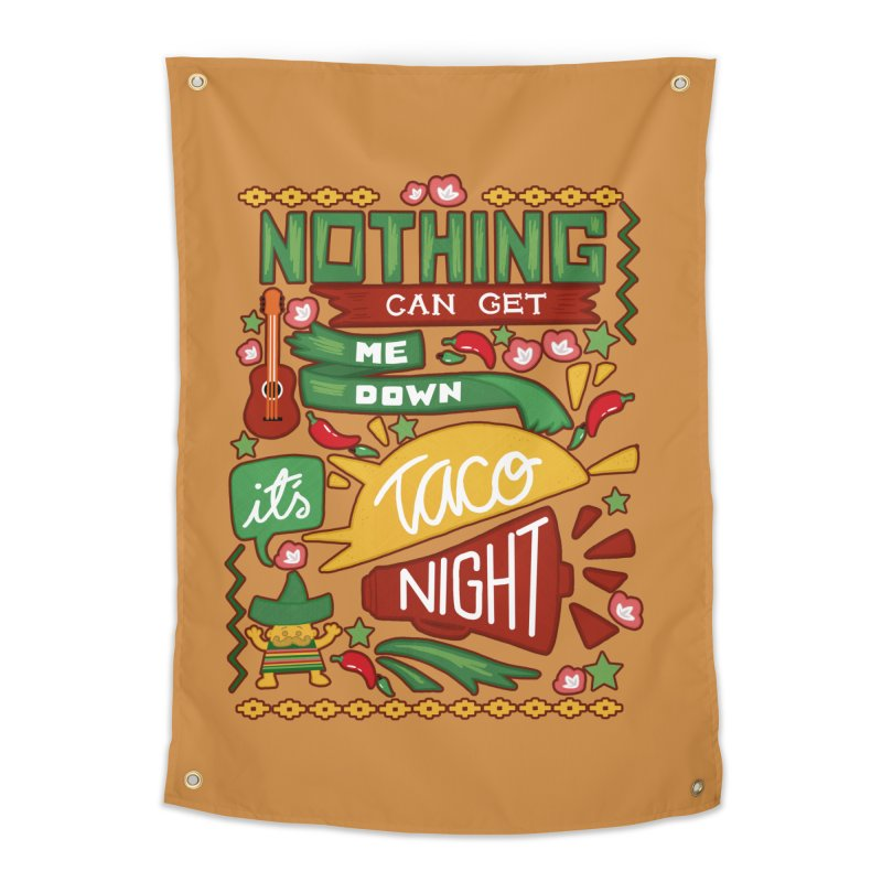 Taco night Home Tapestry by blancajp's Artist Shop