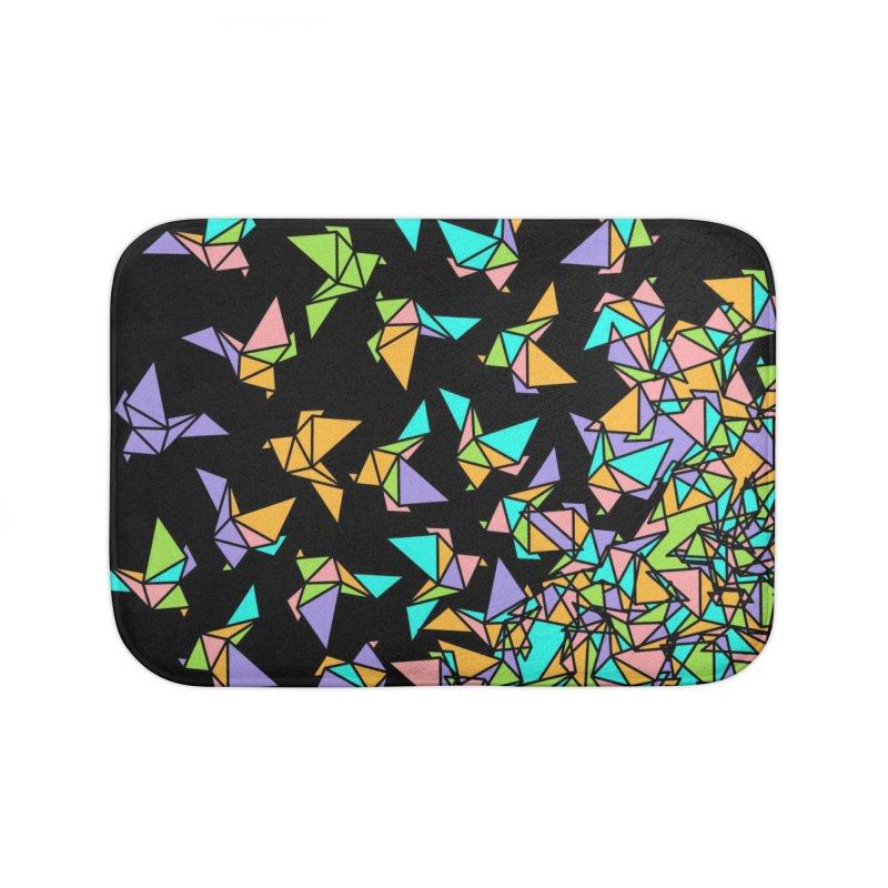 Birds Home Bath Mat by blancajp's Artist Shop