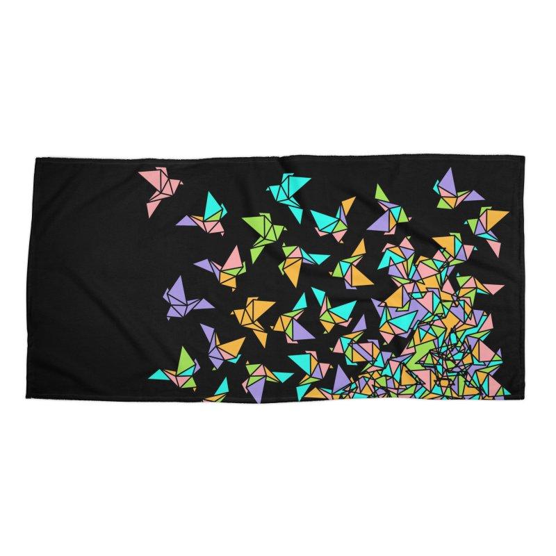 Birds Accessories Beach Towel by blancajp's Artist Shop